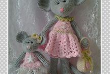 crochet maus
