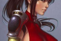 "Characters ""Shogun Project"""