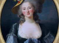 Madame Elisabeth / Contemporary pictures of Princess Elisabeth of France, Sister of Louis XVI
