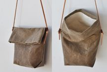 LeatheR BagS / by Ping Ting