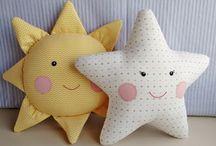 cuscini stella e sole