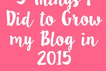 Blogging / by Lauren Zazzara
