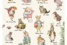 Beatrix Potter Retro / Beatrix Potter themed food, activities, quotes, and design ideas for themed retrospective.