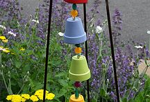 garden art / by Melissa at Early Childhood Solutions
