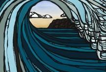 Surf Art / by Kathryn Keliinoi