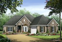 one story elevations / One story house plans that I like.  / by Amber Anderson