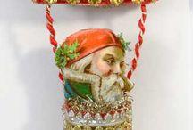 Xmas Ornaments - Vintage