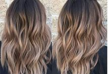 hair inspo medium lengths cut and color