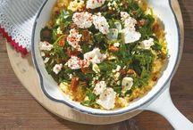 Körner-Parade / Es muss ja nicht immer Reis sein: Couscous, Bulgur und Co. sind wunderbar vielseitig und bringen Abwechslung auf den Tisch!