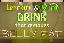 Healthy drinks and foods