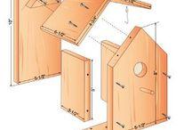 Planes de la casa del pájaronidito