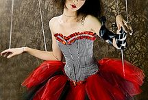 Gothic Circus/Carnival / Gothic inspired Circus, puppet, carnival