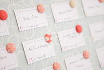 Escort and table cards