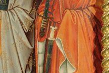Pochvy a závěs meče 14. století / Scabbards and sword lacing 14th century