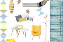 Inspiration Onde Scandinave by Aur'Décor / Créez une ambiance scandinave sur tons pastels...