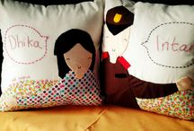 Pillows / table clothing /cushion
