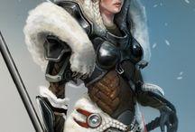 Garde du lion blanc