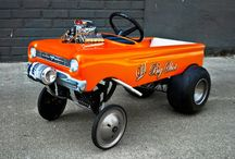 Gasser pedal cars