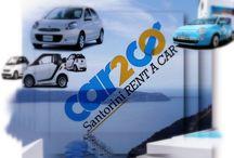 Rent Car in Santorini