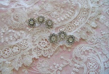 Linens, Laces and Rhinestones / by Faye