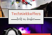 Techniekkoffers / Techniek licht donker