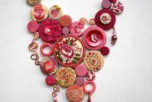 Recycled art jewellery