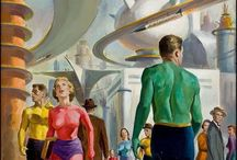 The Artwork of Science Fiction / Posters and illustrations of science fiction.