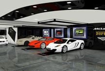 Private Garage Design / Jazzing Up a private Garage in Texas  / by kimmodesign