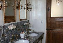 bathrooms... / by christina canady