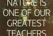 Children Need Nature. Calms ADHD. / Nature helps children heal and learn about the simple beauties around them.