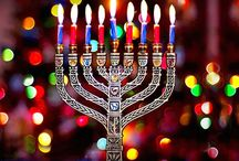 Chanukah ~ Hanukkah / The Miracle of Lights for the Jewish People / by Susan Robbins Mauriello