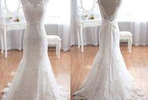 Robes de mariée de dentelle