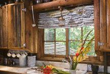 kuchyna / Drevene kitchen
