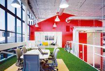 Work / Kreativa och inspirerande arbetsplatser