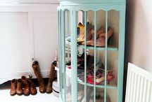 storage / Cool ways to keep organised in the home...