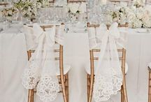Rustic White Gold Wedding
