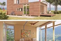 Container whare