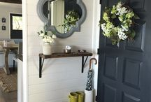 Front door and foyer ideas