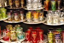Moroccan Tea Glasses.