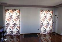 Roman Blinds - Ρόμαν / Roman blinds by Finestra Suncover design. Στο κατάστημά μας θα βρείτε αμέτρητα υφάσματα για να δημιουργήσουμε μαζί το ρόμαν που θα δώσει προσωπικότητα στο χώρο σας