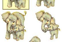 3D med sjove dyr