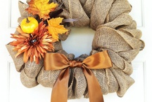 Fall ~ Wreaths / by Sherry Bunch