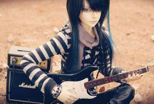 Punk, Rock and Alternative BJD / by Think Pink!