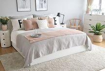 Chambres rose pâle