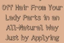 Unwanted hair growth