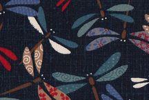 Jolis tissus / Inspiration avec les tissus (couleurs, formes, accords).