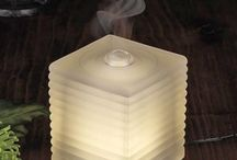 Aroma Diffusers and Aromatherapy / Aromatherapy is a great way to feel balanced holistically; an aroma diffuser can give you the ambience you need to help you be at ease. Aromatherapy can also help with sleeping difficulties, stress, anxiety and even help to beat those hunger craves - perfect if you keep finding your hand dipping into that treat drawer!