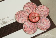 Circle crafts / Crafts done with paper circle punches