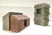 Bespoke Concrete Architectural Models / Precast, Pigmented Architectural Concrete Models
