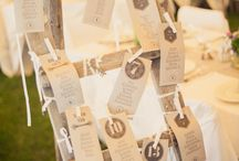 table plans, escort cards